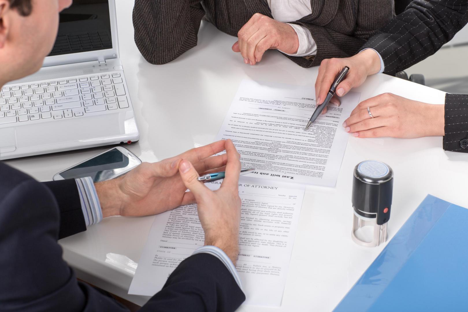 Իրավաբանական անձանց սպասարկում
